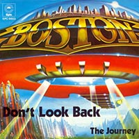 Boston - Don't Look Back record cover