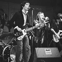 Sex Pistols perform in Paradiso, Amsterdam, January 1977