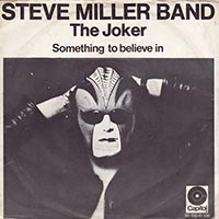 Steve Miller Band The Joker record cover 1973