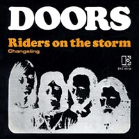 The Doors - Riders on the Storm record cover