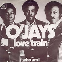 The O'Jays Love Train record cover 1973