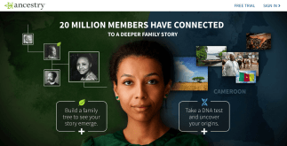 top 4 best - ancestry website home page