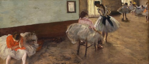 #2 The Dance Lesson (1879)