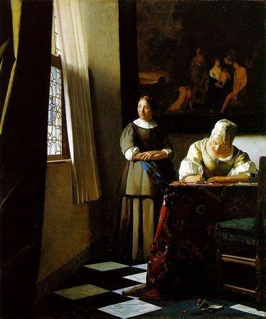 #5 Vermeer Masperpieces with that window!