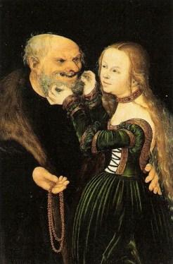 #3 Lucas Cranach Strange Couples!