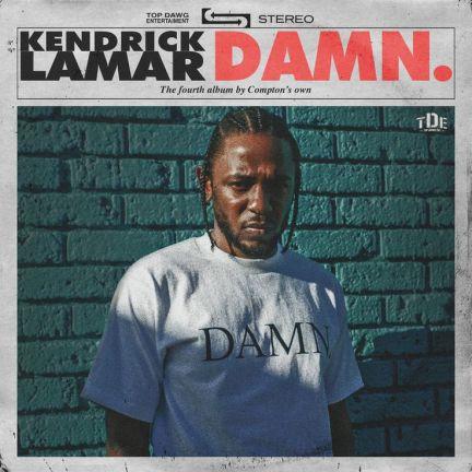 Kendrick Lamar - DAMN.   Best Rap Albums of 2017
