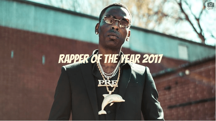 Young Dolph Rapper of the Year 2017