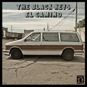 This is the front album cover to Black Keys El Camino CD. It is also the same cover to Black Keys El Camino Vinyl. Follow this link to watch my Black Keys El Camino review/Black Keys El Camino reaction.