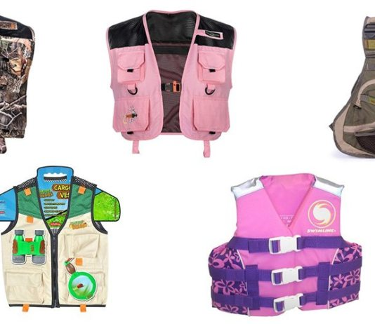 Best Kids Fishing Vest