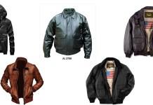 Best Leather Bomber jacket