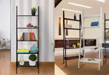 Best Leaning Ladder Bookshelves & Bookcases