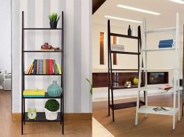 Best Leaning Ladder Bookshelves & Bookcases