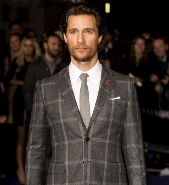 Matthew-McConaughey-dons-a-Prince-of-Wales-suit-by-Kent-Curwen-to-the-'Interstellar'-premiere-October-2014