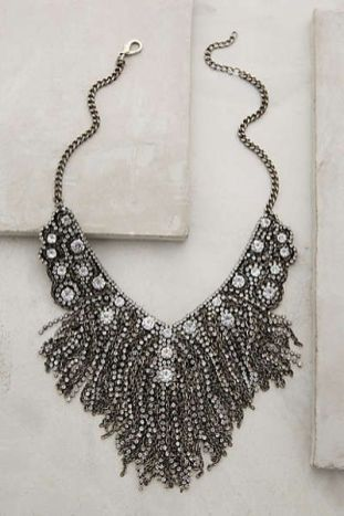fringed delicacies necklace