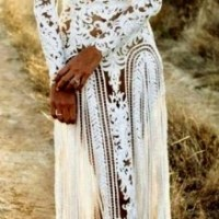 Dreamy bohemian lady