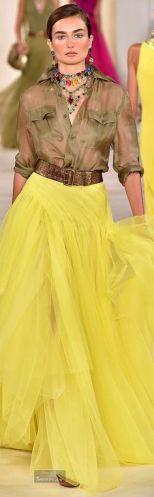 ralph lauren yellow