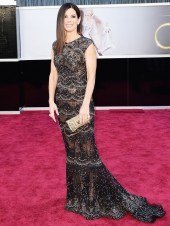 sandra bullock lace dress