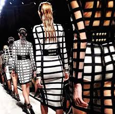 balmain black and white