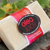 Olea juice soaps