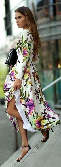 floral dress nastygal