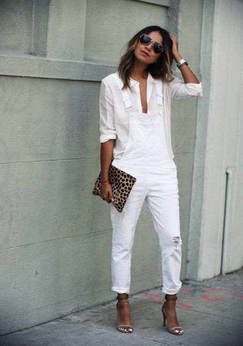 overall white