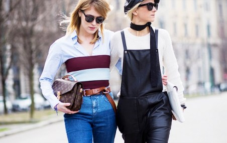 layer your old tube top over a button shirt