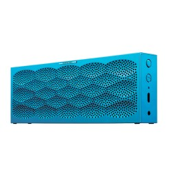 mini bluetooth speaker mini jambox in aqua scales 129.99$