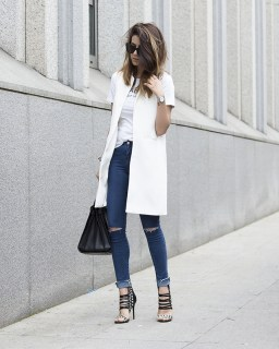 zara jacket and jeans - serenza.it shoes