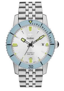 zodiac sea wolf automatic bracelet 1,195$