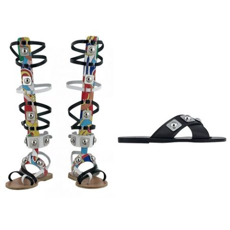 ancient greek sandals high gladiator sandals