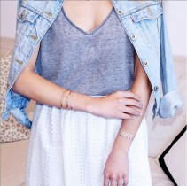 Layer dainty jewels