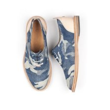 the hampton in blue denim cammo