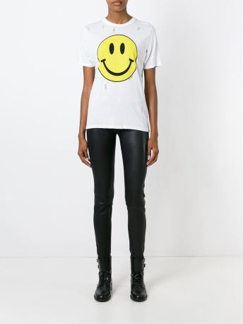 filles a papa smiley tee