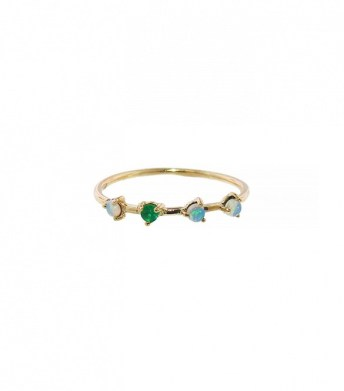 wwake opal and emerald ring 442$