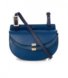 chloe geprgia mini leather crossbody bag
