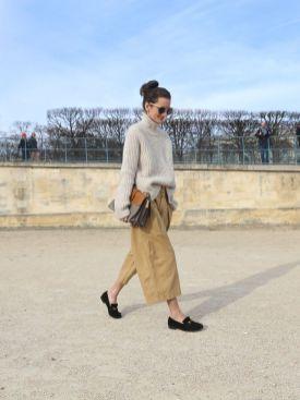 culotte plus loafer