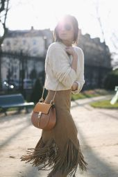 fall-fashion-suede-skirt