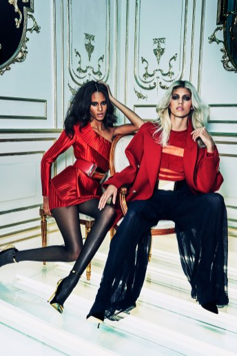 balmain red collection