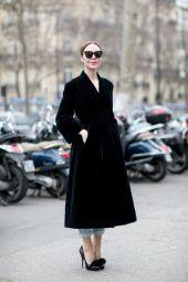 ulyana sergeenko vintage velvet coat