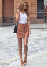 button front suede skirt kit suedette mini skirt, sunglasses asos