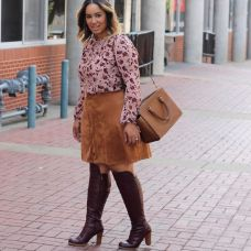 match your suede skirt 2