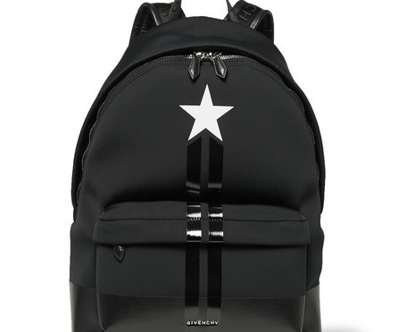 givenchy-stripe-trimmed-neoprene-backpack