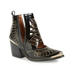 jeffrey campbell maceo pointy toe bootie