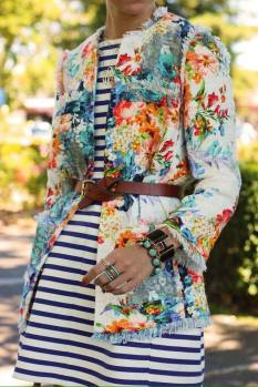 floral with stripes 2