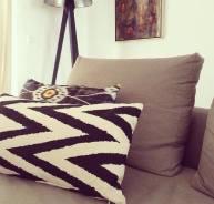 textile pillow