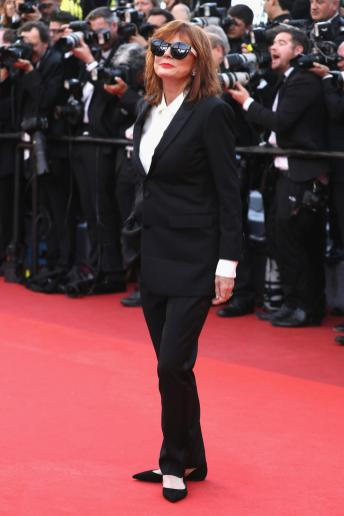 susan sarandon in saint laurent