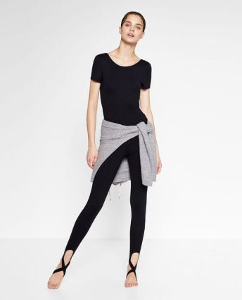 ballet leggings zara