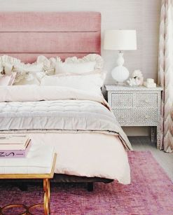 bedroom rose quartz