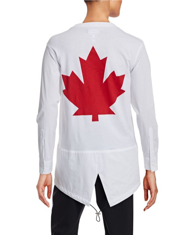 opening ceremony shirt designed by dsquared2