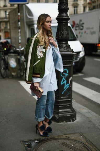 street style bomber jacket olive
